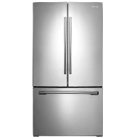 Samsung RF261BEAESR Refrigerator 25.5 cu. ft. French Door Refrigerator with Internal Water Dispenser - Stainless Steel - Scratch/Dent