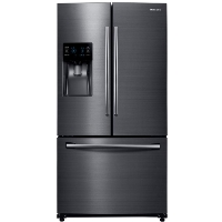 Samsung RF263BEAESG Refrigerator 24.6 cu. ft. French Door Fridge - Fingerprint Resistant Black Stainless - Scratch/Dent