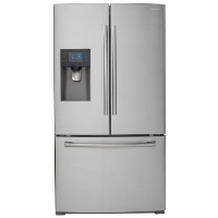Samsung RF263BEAESR Refrigerator 24.6 cu. ft. French Door Refrigerator - Stainless Gray - Open Box - Scratch n Dent