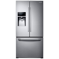 Samsung RF26J7500SR 33 in. W 25.5 cu. ft. French Door Refrigerator in Stainless Steel - New w/Tiny Cosmetic Blemish