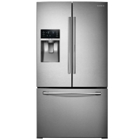 Samsung RF28HDEDBSR Refrigerator 27.8 cu. ft. Food Showcase French Door Refrigerator in Stainless Steel - w/Tiny Cosmetic Blemish Open Box