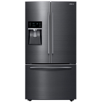 Samsung RF28HFEDBSG Refrigerator 28.07 cu. ft. French Door in Fingerprint Resistant Black Stainless Fridge - Scratch/Dent