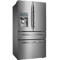 Samsung RF28JBEDBSR 27.8 Cu. Ft. 4-Door French Door Refrigerator with Food ShowCase and Thru-the-Door Ice and Water - Stainless steel