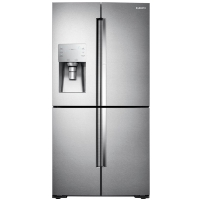 Samsung RF28K9380SR Refrigerator 28 cu. ft. 4-Door Flex French Door Fridge in Stainless Steel - Scratch/Dent