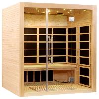 4 Person FAR Infrared Sauna Canadian Hemlock - Modern Dream