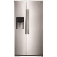 Samsung RS25H5111SR Refrigerator 24.5 cu. ft. Side by Side Refrigerator in Stainless Steel - Scratch/Dent