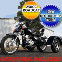 250cc RTD Road Rat Motorcycle Trike