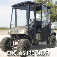 Brand New Vinyl Ruff & Tuff Golf Cart Enclosure