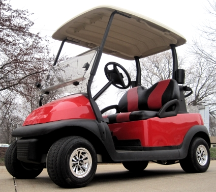 Red 48v Electric Golf Cart Club Car Precedent with Custom Black and Custom Beach Themed Golf Carts on beach themed entertainment, beach themed shoes, beach themed doors, beach themed cabinets, beach themed signs, texas beach golf carts, beach themed cars, beach themed fencing, beach cart wheels, beach themed apartments, palm beach golf carts, beach themed hardware, beach themed home, beach themed accessories, beach themed golf course, beach themed storage, beach themed office supplies,