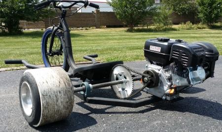 Renegade Gas Powered Drift Trike 6.5 Motorized Wide Edition