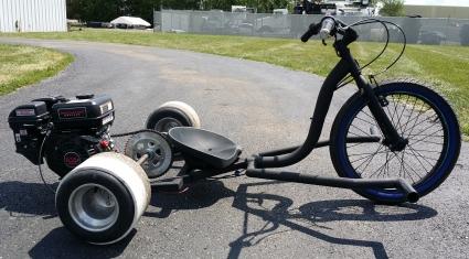 Brand New Renegade Gas Powered Drift Trike 6 5 Motorized Wide Edition