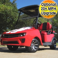 Rally Sports Car Club Car Electric Golf Cart