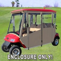 Brand New Vinyl Star Car 48-4L Golf Cart Enclosure