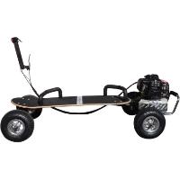 49cc ScooterX Skateboard Black Gas Skateboard