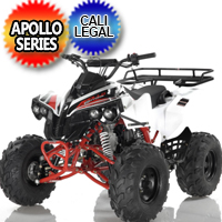 125 Atv Apollo Series Sportrax 8 125cc Fully Automatic w/Reverse Sport ATV Four Wheeler - Sportrax 8