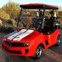 Rally Sports Car Club Car Electric Golf Cart