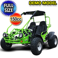 150cc Go Kart Trailmaster XRS Super Dirt Hugger Go Kart - Full Automatic & Elec Start - Demo Model