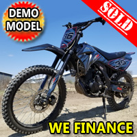 250cc Super Siren 4 Stroke Manual Dirt Bike - Demo Model