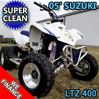 2005 Suzuki LTZ 400 Quad Atv - Excellent Condition - Super Clean