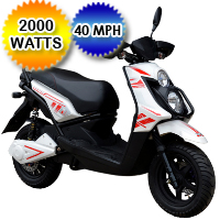 Brand New 2000 Watt Venom Electric Moped Scooter