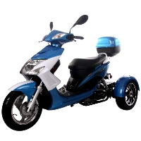 Brand New 50cc Elf Trike Scooter Moped