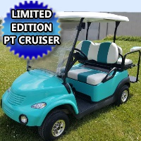 48V Teal PT Cruiser Golf Cart Electric Club Car Precedent