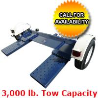 Heavy Duty Car Trailer Towing Dolly Hauler - 3,000 Capacity Tow