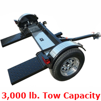 High Quality Car Trailer Towing Dolly Hauler - 3,000 Capacity