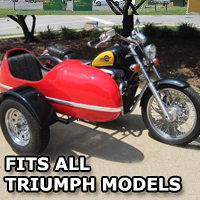 RocketTeer Side Car Motorcycle Sidecar Kit - All Triumph Models