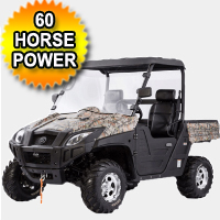 800cc Double V Cylinder Utility Vehicle 4 Stroke Electric Start UTV