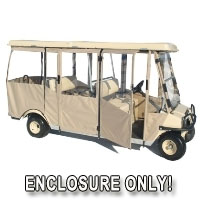 Brand New Club Car Villager 6 Sunbrella Golf Cart Enclosure