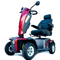750 Watt 4 Wheeled Mid Size Mobility Scooter - VitaXpress