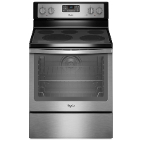 Whirlpool WFE540H0ES 6.4 cu. ft. Freestanding Electric Range Stainless Steel - New w/Tiny Cosmetic Blemish