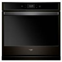 Whirlpool WOS72EC0HV 30 in. Smart Single Electric Wall Oven with True Convection Cooking in Fingerprint Resistant Black Stainless Steel - New w/Tiny Cosmetic Blemish