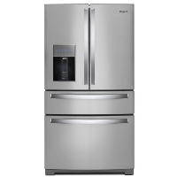 Whirlpool WRX986SIHZ French Door Refrigerator - 35.6 Inch - 26.2 cu ft - Stainless Steel - New w/Tiny Cosmetic Blemish