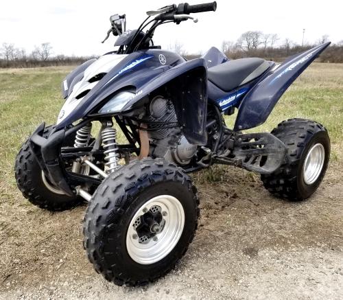 2006 350 Yamaha Raptor Special Edition 350cc Atv Quad - Super Clean
