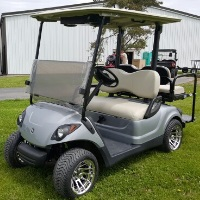 Yamaha Drive Gas Golf Cart w/ Rear Flip Seat