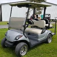 Yamaha Drive Gas Golf Cart w/ Rear Flip Seat