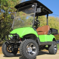 Offroad Lifted Utility Yamaha Gas Golf Cart