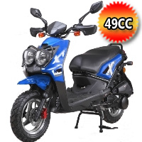 50cc Zuma 4 Stroke Air Cooled Moped Scooter