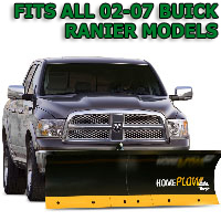 Fits All Buick Enclave 02-07 Models - Meyer Home Plow Basic Electric Lift Snowplow