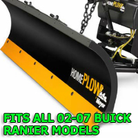 Fits All Buick Rainier 02-07 Models - Meyer Home Plow Snow Plow - Hydraulic - Power Angling