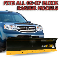 Fits All Buick Rainier 02-07 Models - Meyer Home Plow Basic Manual Lift Snowplow