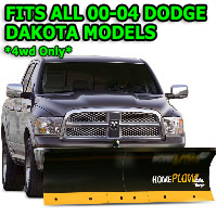 Fits All Dodge Dakota 00-04 Models - Meyer Home Plow Basic Electric Lift Snowplow