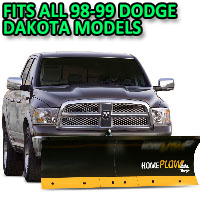 Fits All Dodge Dakota 08-11 Models - Meyer Home Plow Basic Electric Lift Snowplow