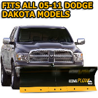 Fits All Dodge Dakota 05-11 Models - Meyer Home Plow Basic Electric Lift Snowplow