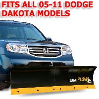 Fits All Dodge Dakota 05-11 Models - Meyer Home Plow Basic Manual Lift Snowplow
