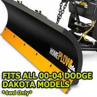 Fits All Dodge Dakota 00-04 Models - Meyer Home Plow Snow Plow - Hydraulic - Power Angling