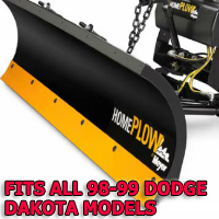 Fits All Dodge Dakota 08-11 Models - Meyer Home Plow Snow Plow - Hydraulic - Power Angling
