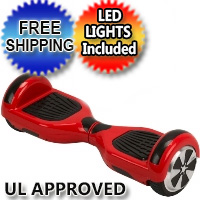 "6.5"" Original Self Balance Hoverboard Scooter w/ LED Lights - Free Shipping & UL Approved"
